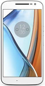 Motorola Moto G4 Play (4th Generation) 16GB 4G LTE Unlocked ONLY GSM 5 Inches International Version No Warranty (White)