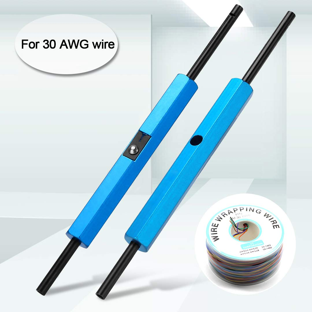 NOHPILY Wire Wrap Tool Strip Unwrap Tool for AWG 30 Cable Prototyping Wrapping Hand 1pc