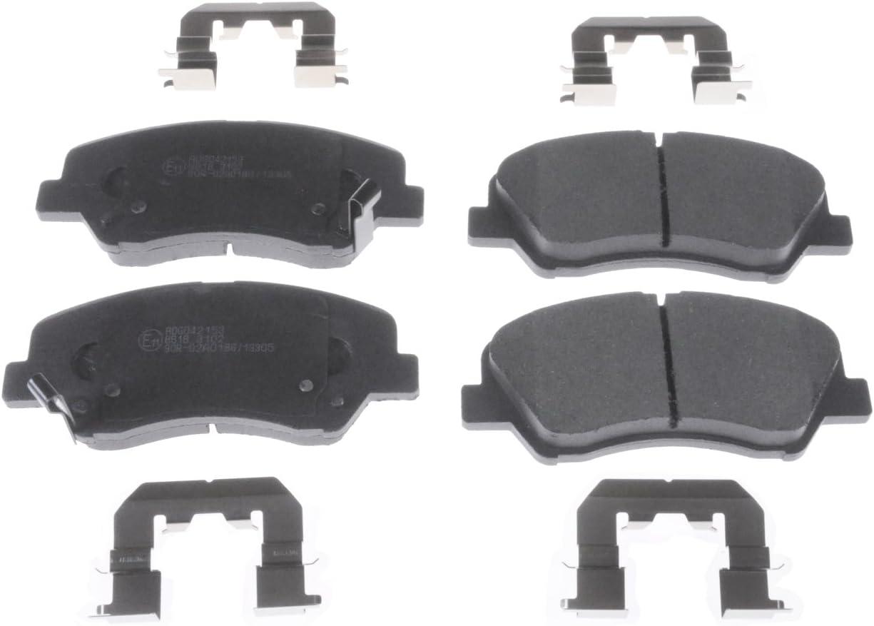 Blue Print ADG042153 Brake Pad Set pack of four