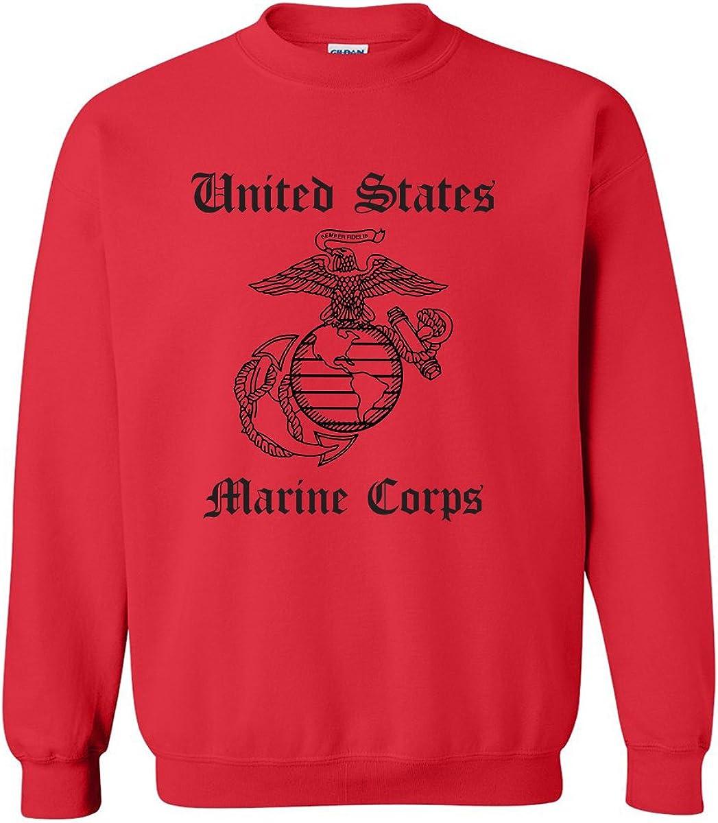 United States Marine Corps Crewneck Sweatshirt