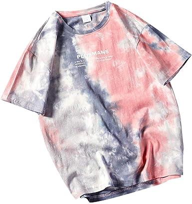 Doreleven ❣ Camiseta de Manga Corta para Hombre Moda 3D Estampado ...