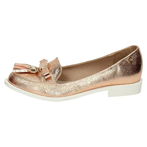 XTI 46625 Mocasines DE XTI Mujer Zapatos MOCASÍN: Amazon.es: Zapatos y complementos