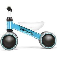Baby Balance Bike, Kids Ride On Toys, Children Toddler Mini No Pedal Push Scooter, 4 Wheels Infant Walk Toy, Beginner…