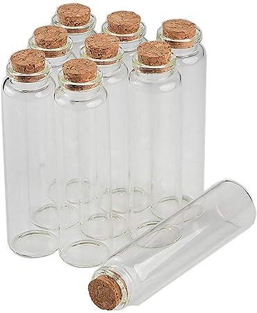 Material: Cristal + corcho de madera Color: transparente, como se muestra en la imagen. Tamaño: 20ml