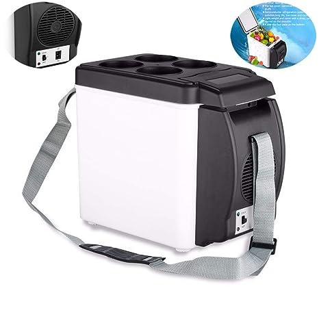 XIAOSD 6 L PortáTil Refrigerador del Coche, Tipo FríO Y Caliente ...