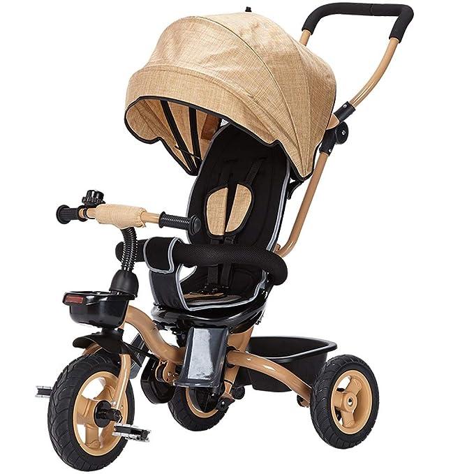Jian E E-Carro Bebé Infantil Triciclo Bicicleta 1-3 años de ...