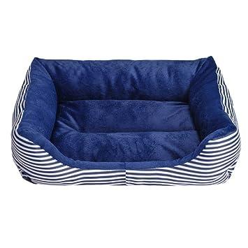 Revolución U impermeable paño de Oxford comodidad de mascota gato casa cama para perro, vintage despojado de la perrera: Amazon.es: Productos para mascotas