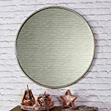 Melody Maison Large Round Vintage Gold Wall Mirror 70cm x 70cm
