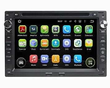 Negro) 7 Pulgadas Coche Radio con GPS Quad Core Android 5.1 ...