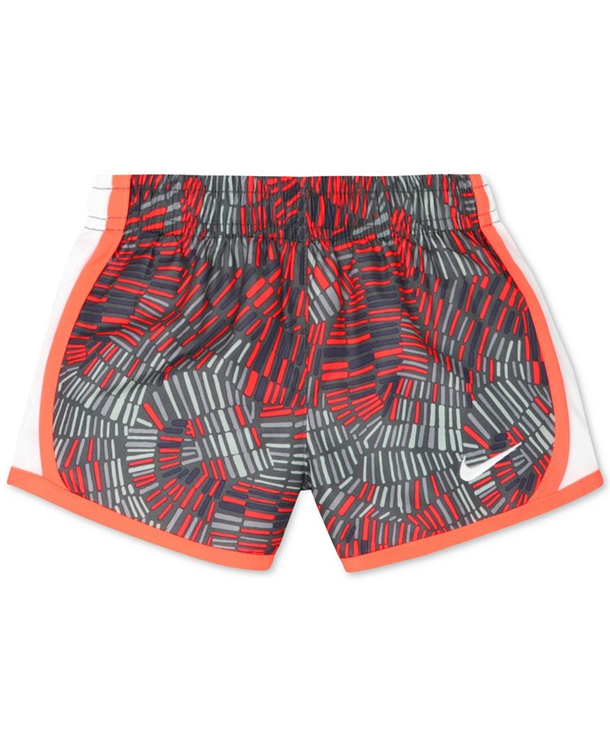Nike Little Girls Tempo Shorts (4, Cool Grey)