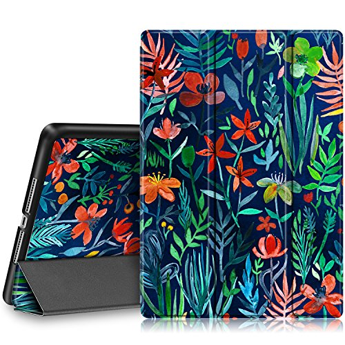 - Fintie iPad 9.7 2018/2017 Case - Lightweight Slim Shell Standing Cover with Auto Wake/Sleep Feature for Apple iPad 6th / 5th Gen 9.7 Inch Tablet, Jungle Night