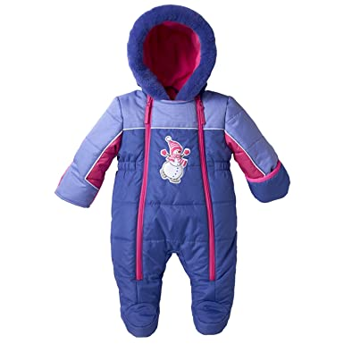0c038f606 Amazon.com  Wippette Baby Girl Snow Pram  Adorable Snowsuits For ...
