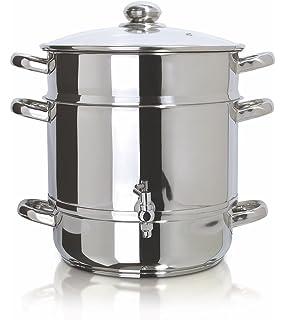 Amazon.com: Cook N Home - Vaporizadora y juguera de acero ...