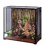 Oiibo Knock Down Glass Reptile Terrarium (Large, Extra Tall 36'' x 18'' x 35'')