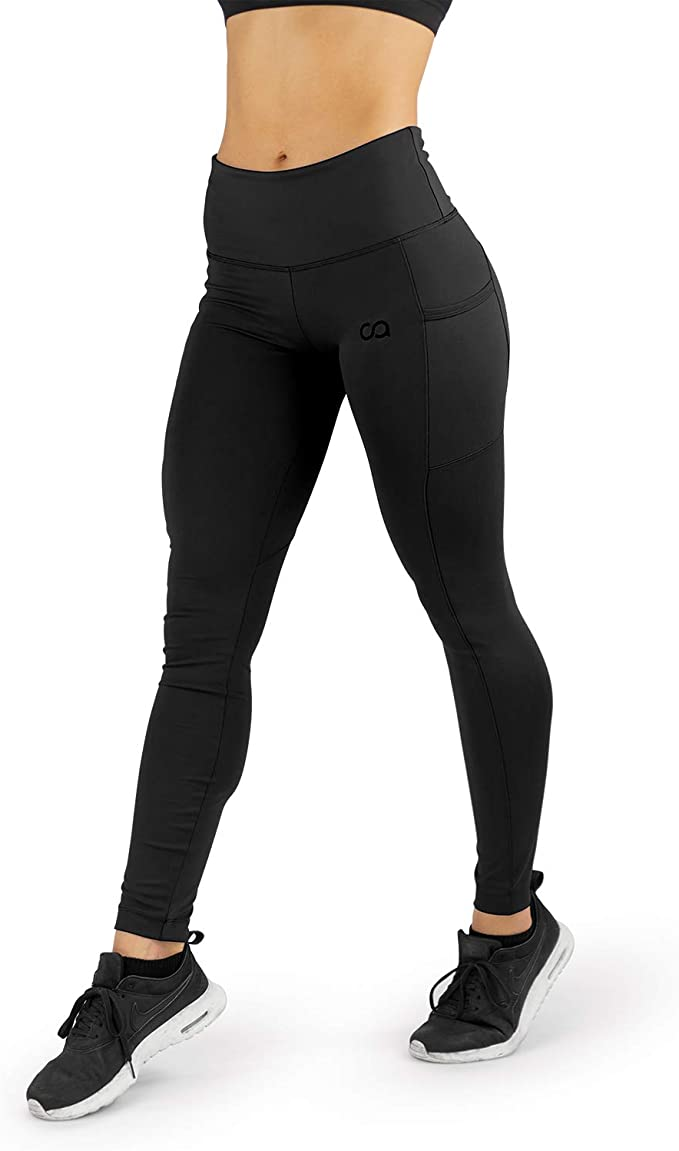 Contour Athletics High Waisted Leggings for Women, Yoga Pants, Workout Leggings with Pockets for Women