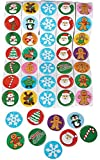 Arts & Crafts : Holiday Roll Sticker Assortment (500 Stickers)