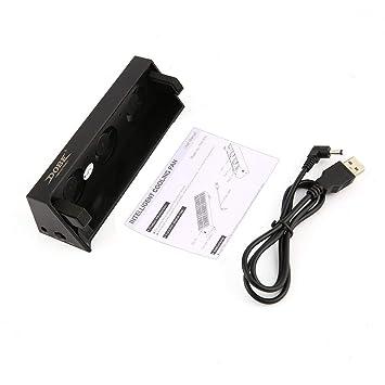 LoveOlvido Ventilador de refrigeración USB Externo Super Turbo Inteligente Temperatura refrigerador Exhauster de Calor para PS4 Slim Gaming Console: ...