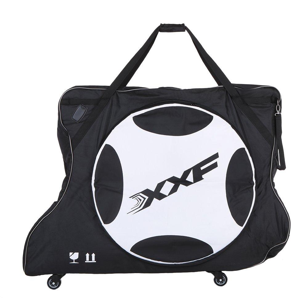 Lixada Automatically Inflatable Pad Bike Transport Travel Bike Carry Bag Nylon Pad Bag for 700C Road Bike by Lixada (Image #1)