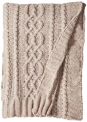 battilo Knitted Luxury Chenille Throw blanket, 51