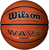 Wilson Wave Phenom - Pelota, color naranja, talla 7