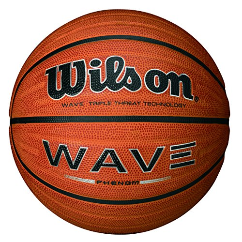 Players Phenom - Wilson Wave Phenom Official Basketball, Orange,29.5-Inch