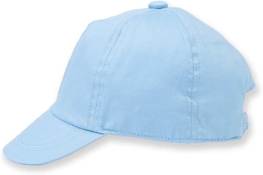 Larkwook - gorra unisex para bebes - Verano/Piscina/Playa (1-2 años) (Azul palido)