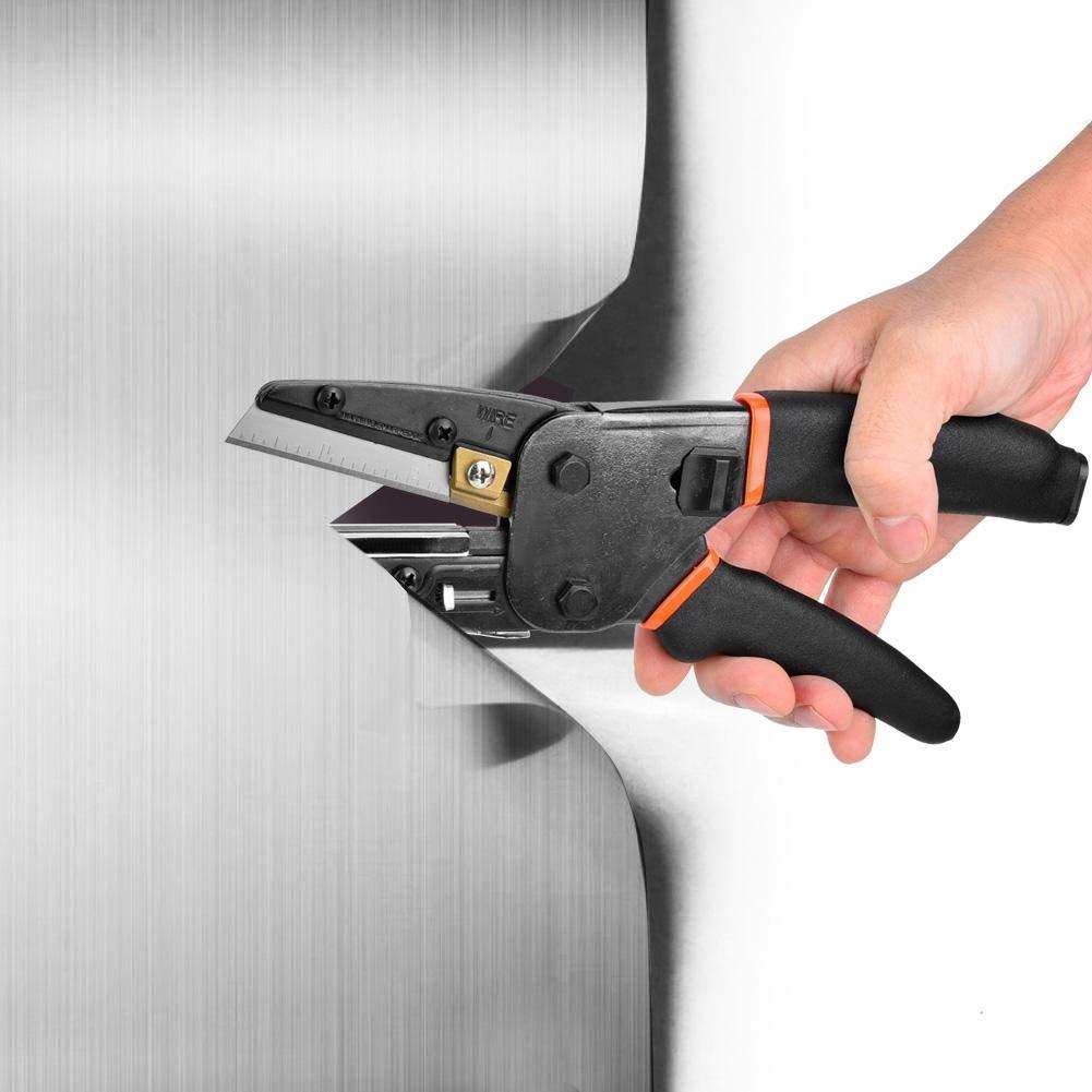10-Zoll-Schere , Multifunktionale Hochleistungsschere , Professionelle ultrascharfe Industrieschere Cutting zum Schneiden von Schl/äuchen , Stiften , Stoffen , N/ägeln , etc.