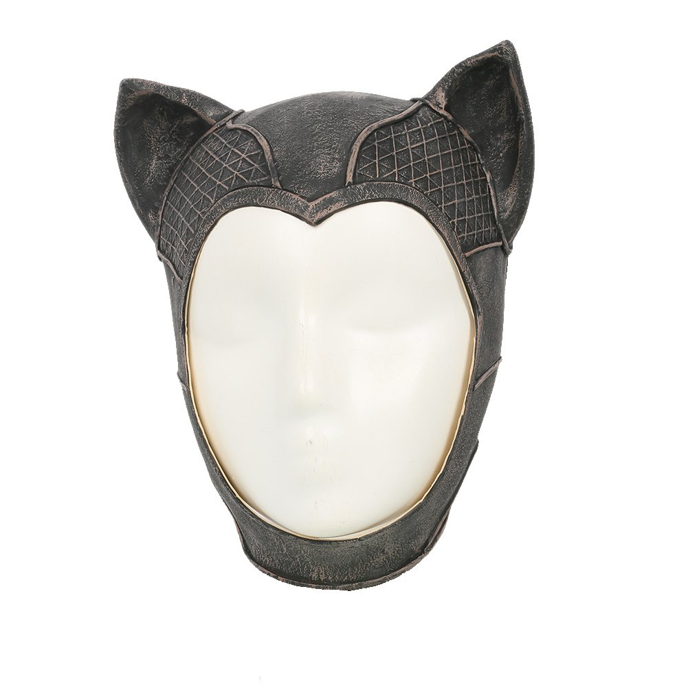 xcoser Cat Mask Costume Props for Women Latex