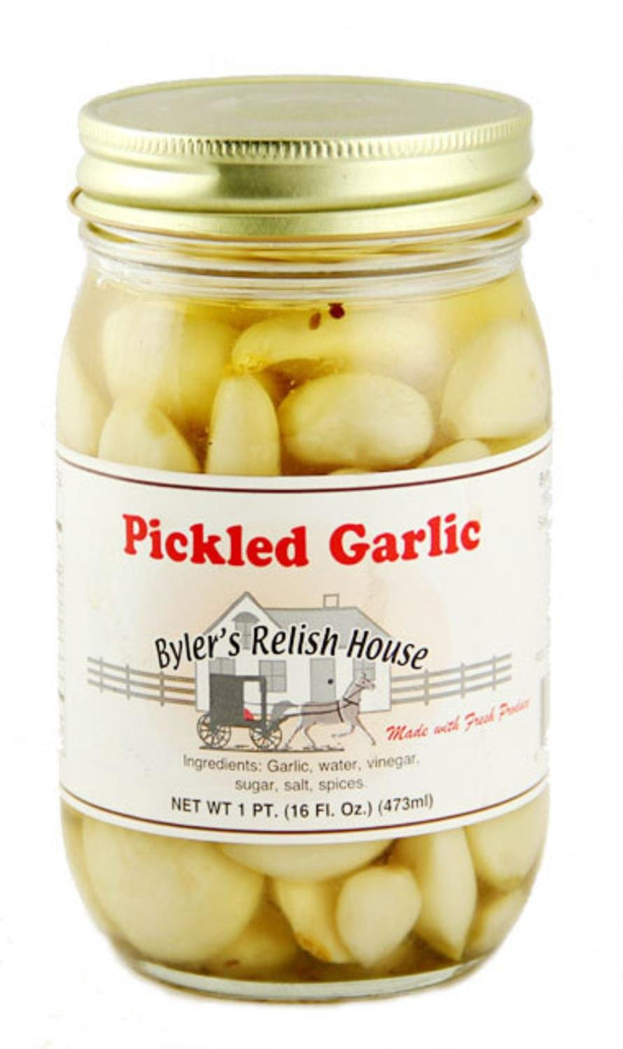 how to use pickled garlic