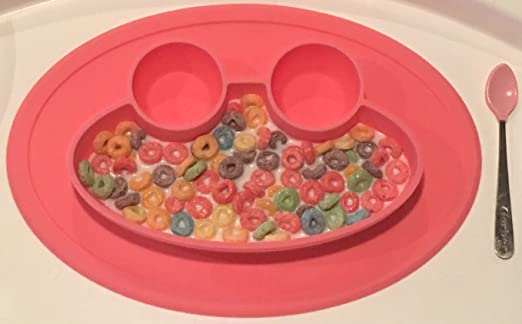 Fisher Price Plastic Kids Divided Dish 1990 Feeding