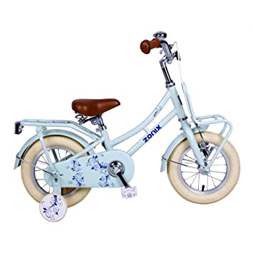 Vélo Fille Zonix 12 Pouces Frein à Rétropédalage et Stabilisateurs  Amovibles Bleu 85% Assemblé f92dfe88e0f0