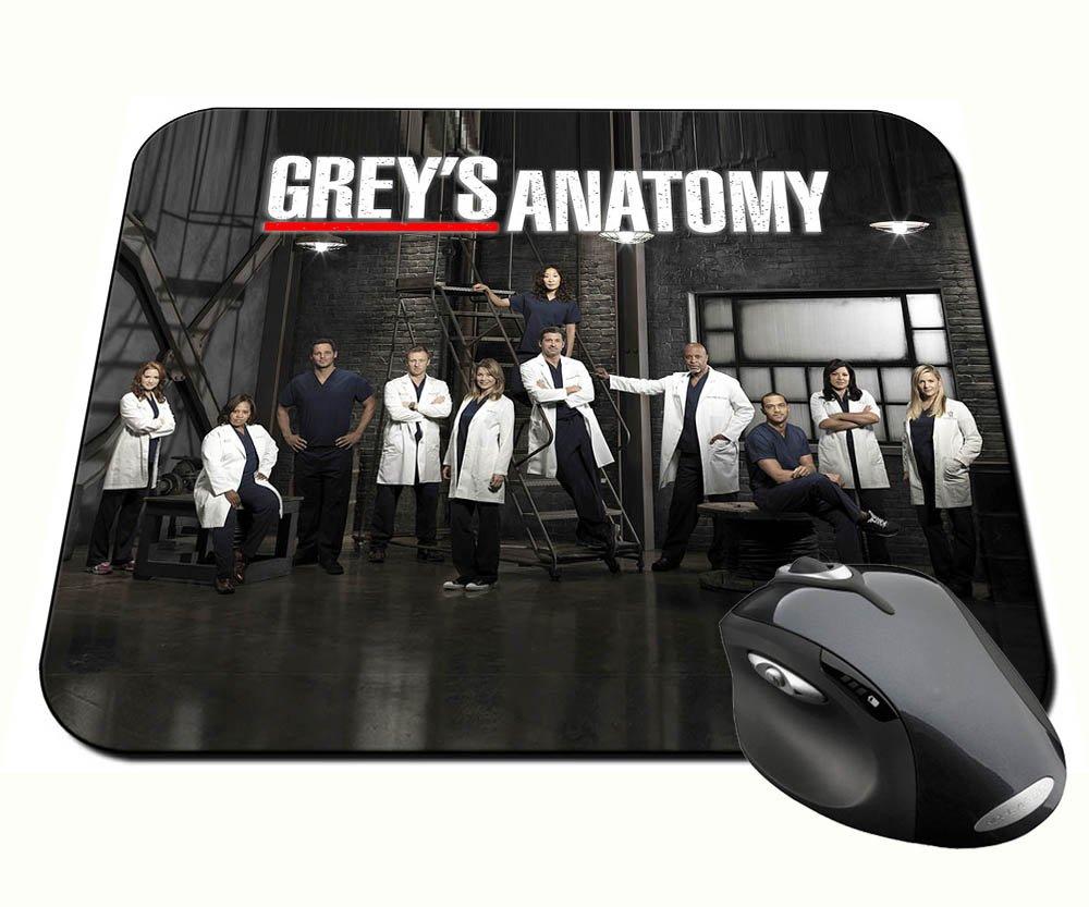 Anatomia De Grey Grey\'s Anatomy B Alfombrilla Mousepad PC: Amazon.es ...