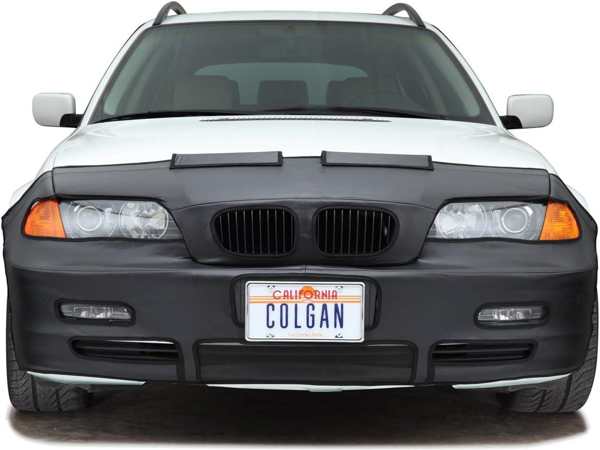 Vinyl Black Colgan Custom Fit Original Front End Mask for Select BMW X3 Models