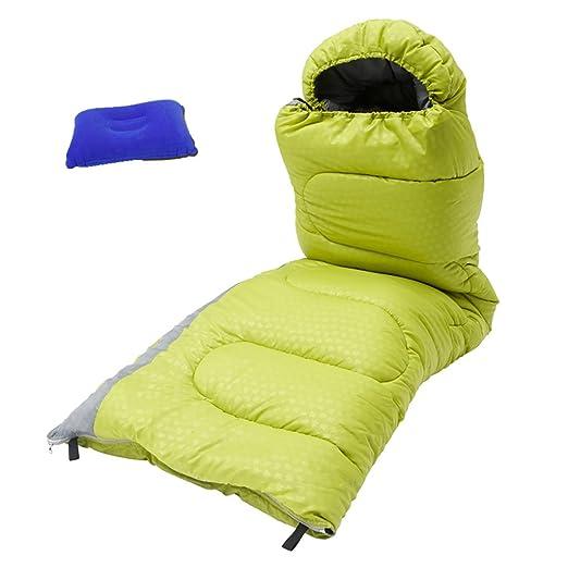 A&D - Saco de Dormir para Acampada, Senderismo y Dormir ...