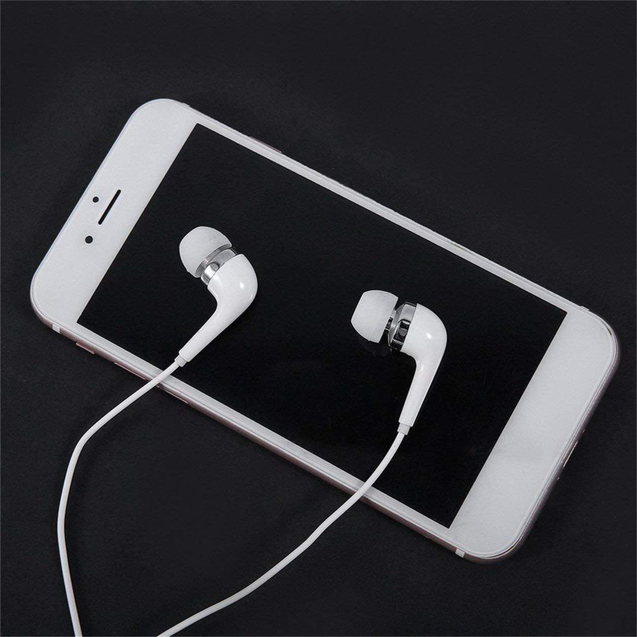 Original Type-C Ecouteur USB Accessoire Casque Num/érique Filaire Contr/ôle Dans loreille Casque Ecouteur Num/érique Pour Smartphone blanc