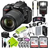 Nikon D5600 DSLR Camera with Nikon 18-55mm f/3.5-5.6G Lens Travel Combo