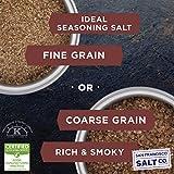 Hickory Smoked Sea Salt 2 lb. Bag - Fine Grain by
