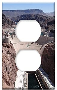 Arizona Nevada Hoover Dam Reservoir Dam -Outlet Cover Switch Plate
