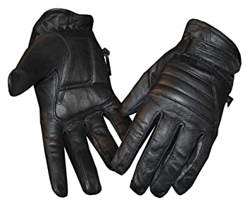 Redline Women's Motorcycle Leather Gloves