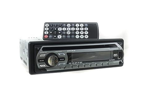 GT460U - Radio estéreo para el coche, con panel frontal extraíble