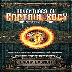 Adventures of Captain Xoey and the Mystery of the Djinn Audiobook