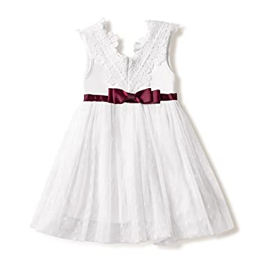 e8b86fddcc270 Amazon.com: Girl Baptism Clothes Girl Newborn Baby Christening Gown ...
