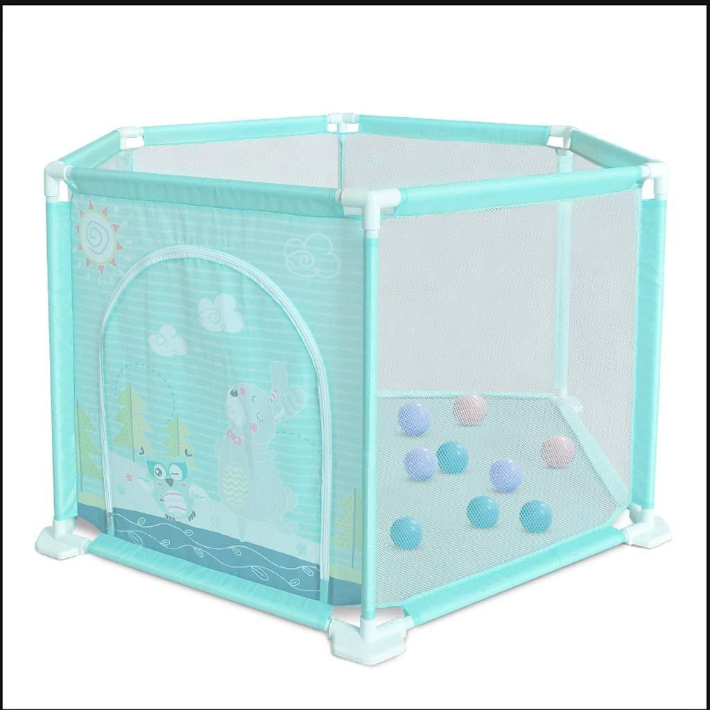 赤ちゃんフェンス子供のゲーム屋内と屋外フェンス海洋ボールプールネット安全クロール幼児遊び場 JSFQ B07T96HJWS