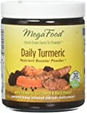 MegaFood - Daily Turmeric Booster Powder, Promotes Healthy Aging and Inflammation Response, 30 Servings (2.08 oz)