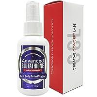 CCL Advanced Glutathione Spray Supplement Pure Reduced L-Glutathione- Nano Pure Absorption. Powerful Antioxidant (4 oz)