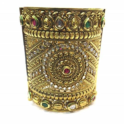Jewelshingar Jewellery Diamond Looking Free Size Bracelet For Girls ( 14736-bcad ) by Jewelshingar
