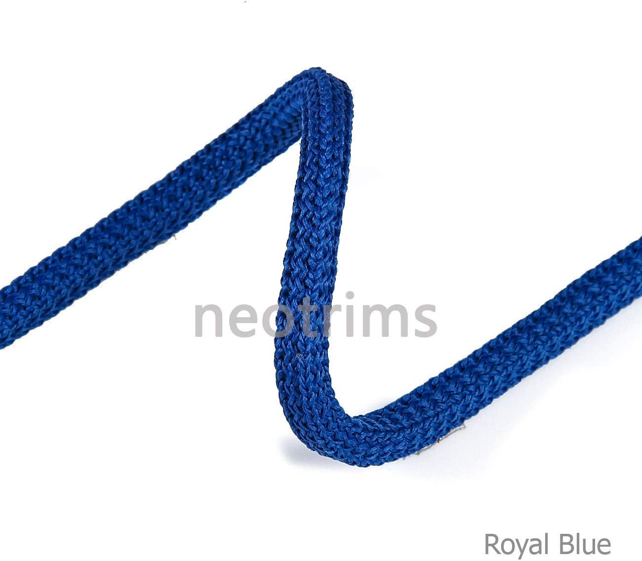 21 Colours 6mm Cushion Piping Padded Square i Cord Texture,Hoody Trimming,Sweatshirts,Garments,Apparel Crafts Strong,Slight Stretch,Soft Handle,Neotrims Drawstring Hoodie Braided Cord Rope Trim