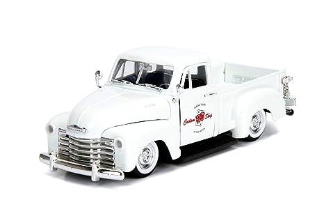 Chevy Las Vegas >> Amazon Com Jada 1953 Chevrolet 3100 Pickup Truck White