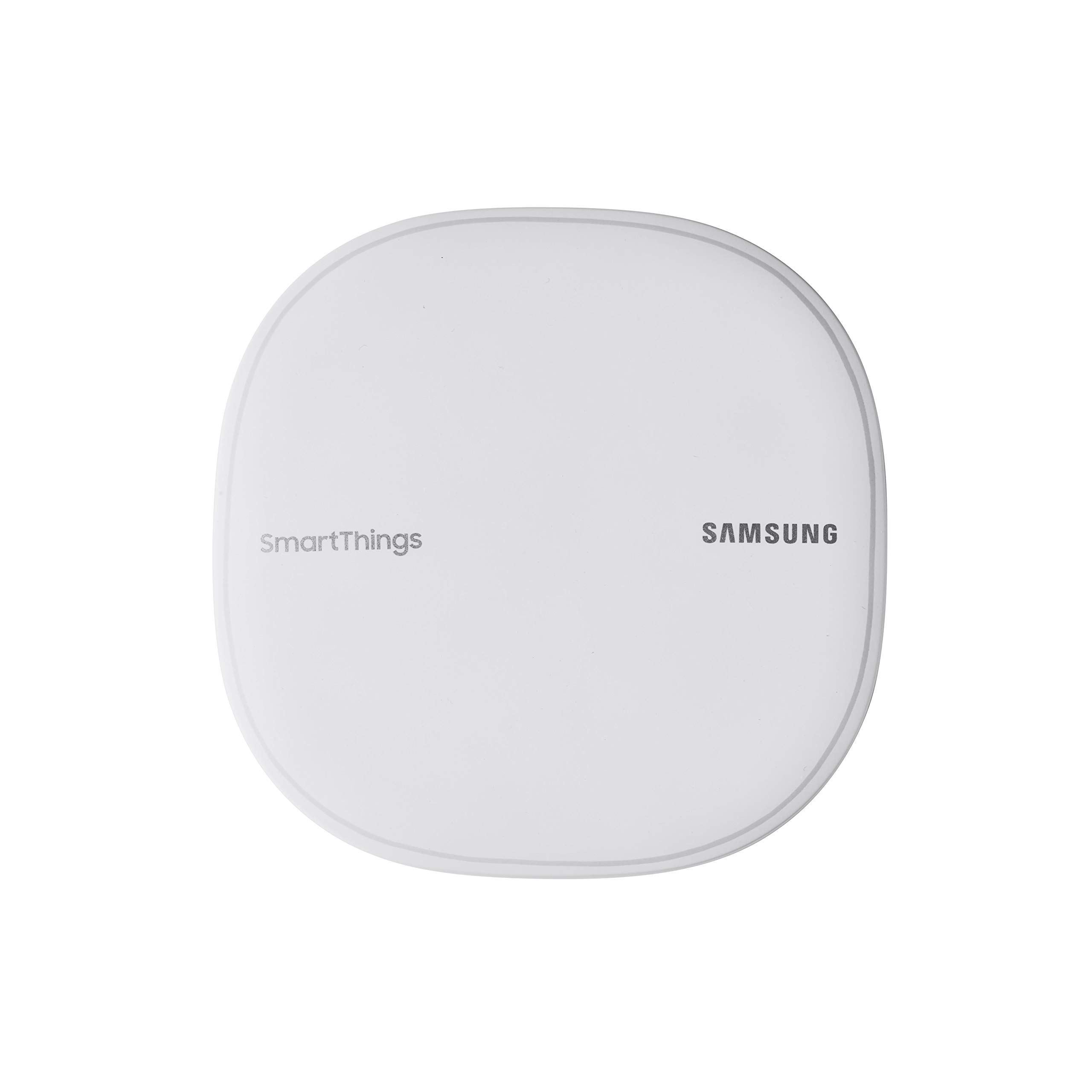 Samsung SmartThings Wifi Mesh Router Range Extender SmartThings Hub Functionality Whole-Home WiFi Coverage - Zigbee, Z-Wave, Cloud to Cloud Protocols - White (Single) by Samsung