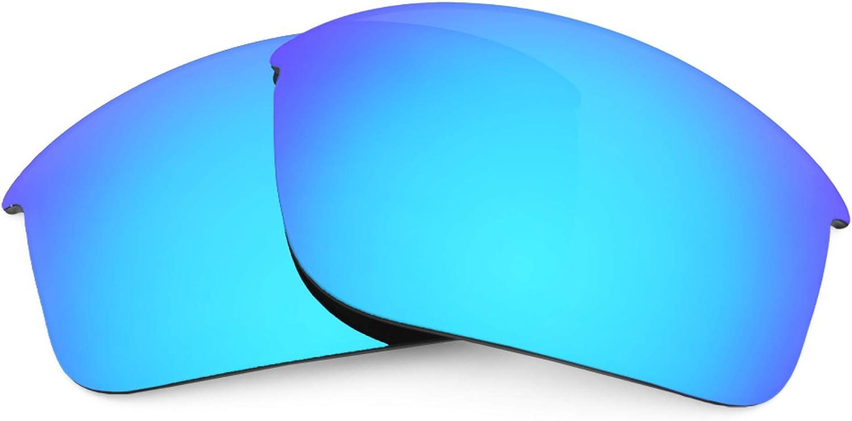Revant Verres de Rechange pour Oakley RPM Edge - Compatibles avec les Lunettes de Soleil Oakley RPM Edge Bleu Glacier Mirrorshield - Polarisés